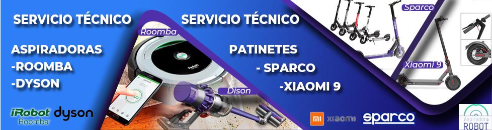 Servicio técnico Patinetes Sparco en Burgi 1
